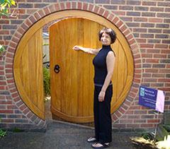 Welcome through my hobbit door